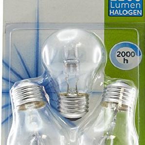GENERAL ELECTRIC gee034130-3Leuchtmittel Eco Halogen Glas 70W E27transparent