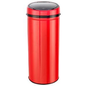 Echtwerk Edelstahl-Abfalleimer Easy Touch rot, »INOX RED«