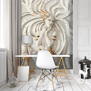DekoShop Fototapete Vertical Vlies Tapete Wandbild Dekoration Modern,  Kunst, Luxus Vliestapete Moderne Wanddeko Wandtapete Wand Dekoration Medusa  ...