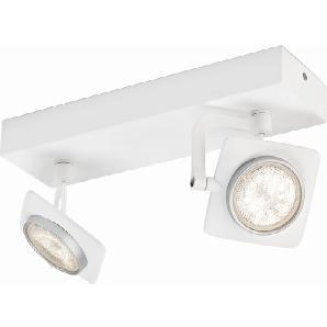 Philips myLiving LED-Spot 2er Millennium Weiß EEK: A-A++
