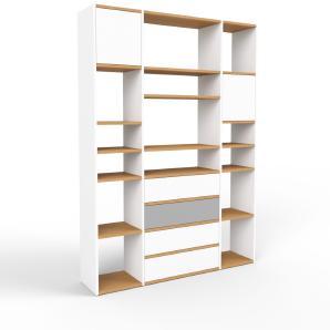 Bücherregal Weiß, MDF, 154 x 194 x 35
