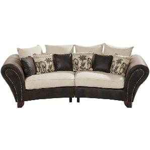 smart Big Sofa  Nadja ¦ braun ¦ Maße (cm): B: 277 H: 100 T: 108 Polstermöbel  Sofas  3-Sitzer » Höffner
