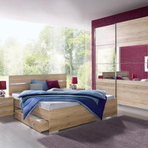 Rauch  PACK`S Schlafzimmer-Set (4-tlg.), Breite 270 cm, beige