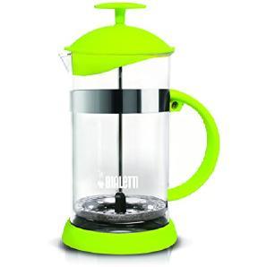 Bialetti 6181 Kaffeebereiter, Glas, grün, 16 x 11.5 x 22.5 cm