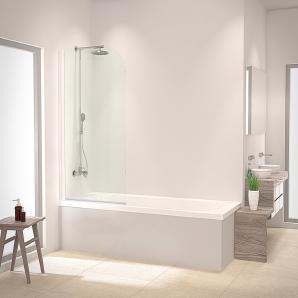 SCHULTE Badewannenaufsatz »Einfach ohne Bohren«, 80 x 140 cm