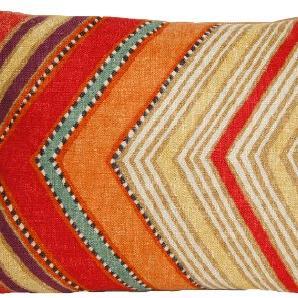 Kissenhülle, Osborne & Little Stoff Fez, Marokkanishchen Stil, Decorative Kissen Orange