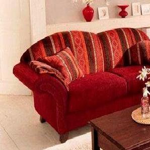 Home affaire Sofa »Colombo« rot, FSC®-zertifiziert