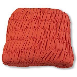 Sofaüberwurf Eckig Universal gerippt Orange Angolare Arancio
