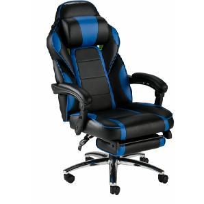 Gaming Chair mit ausziehbarem Fußteil schwarz, »Sprinta«, schwarz