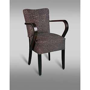 Sessel Leblon 67 mit Stoffbezug, Farbe: Rot / Grau - Abmessungen: 86 x 44 x 43 cm (H x B x T)