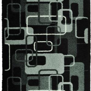 Schmutzfangmatte Retro - Grau / Schwarz - 120 x 200 cm, Zala Living