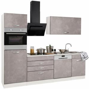 k chen in grau preise qualit t vergleichen m bel 24. Black Bedroom Furniture Sets. Home Design Ideas
