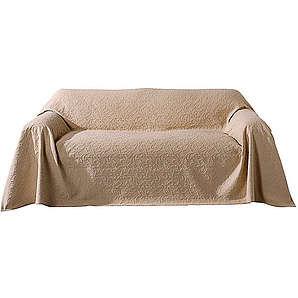PEREIRA DA CUNHA PEREIRA DA CUNHA Sofaüberwurf natur ca. 160/270 cm,ca. 250/270 cm,ca. 250/330 cm,ca. 250/370 cm