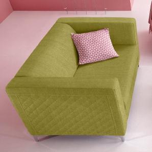 INOSIGN 2-Sitzer mit Steppung grün, FSC®-zertifiziert