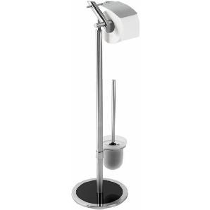 WC-Garnitur, metall, Gr. ca. 72/32/14 cm,  home