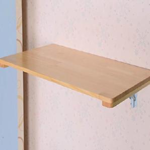 HWF Wandtisch Wandklapptisch Falttische Massivholz Esstisch Notizbuch Wandtisch Wandmontierter Computer Schreibtisch ( größe : 60*40cm )
