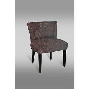 Stuhl Leblon 21 mit Stoffbezug, Farbe: Rot / Grau - Abmessungen: 78 x 50 x 45 cm (H x B x T)