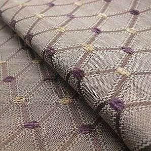 Berkeley Pflaume Motiv & # x202F;: Beige und Rosa Öl Material Stoff Dekostoff Kissen Sofa, feuerbeständig loome Gewebe, Berkeley Damson Pattern : Beige And Pink, per metre