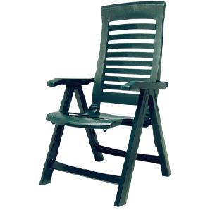 Klappstuhl Florida - Kunststoff - Grün, Best Freizeitmöbel