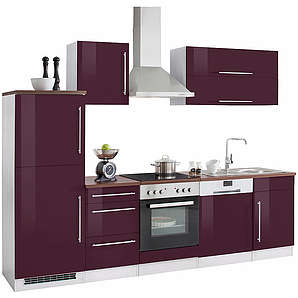 k chen in lila online vergleichen m bel 24. Black Bedroom Furniture Sets. Home Design Ideas