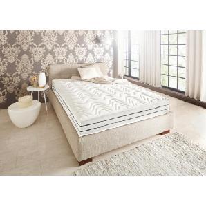 Schlaf-gut Komfortschaummatratze »Prestige Plus 23 S - Luxus«, 90x200 cm, Abnehmbarer Bezug, Ca. 23 cm hoch, weiß, 101-120 kg