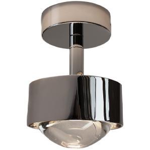 Top Light Puk Turn LED Downlight, 24 Karat vergoldet / Chrom