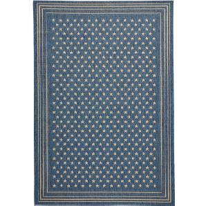 In- und Outdoor Teppich Linda in blau