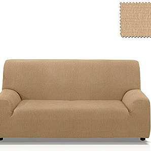 Elastische Sofahusse Minerva, Grösse 1 Sitzer (von 55 bis 85 Cm.), Farbe Beige (mehrere Farben verfügbar)