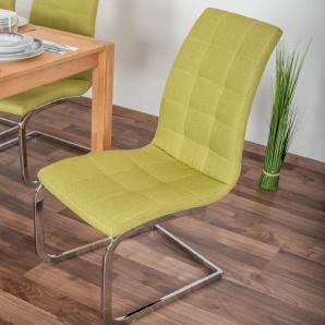 Stuhl Maridi 17, Farbe: Grün - Abmessungen: 105 x 43 x 58 cm (H x B x T)