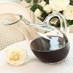 Eleganten Luxus Klar Glas Karaffe 19x 30(Y153)