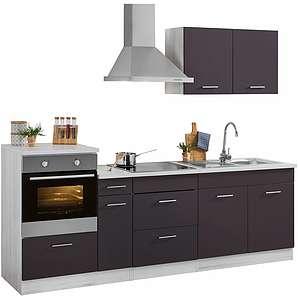 HELD MÖBEL Küchenzeile mit E-Geräten »Tampa«, Breite 250 cm