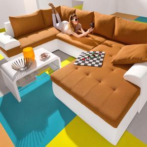 wohnlandschaften in gelb online vergleichen m bel 24. Black Bedroom Furniture Sets. Home Design Ideas