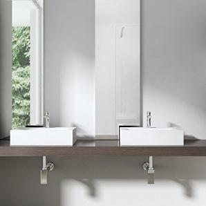 Aufsatzwaschbecken riesen auswahl auf moebel24 finden for Eckiges waschbecken