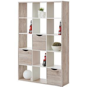 Raumteiler Annecy - Sandeiche / Weiß - 110 cm - 181 cm, roomscape