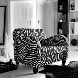 Sessel im Zebra Look, bunt, Gr. zebrafarben, INOSIGN