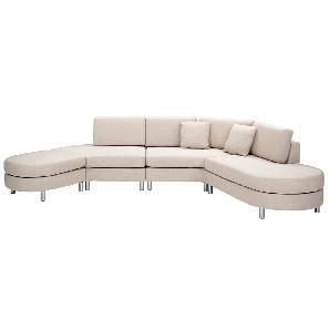 Sofa Beige - Couch - Lounge - Sofagarnitur - Sofalandschaft - Polstersofa - COPENHAGEN