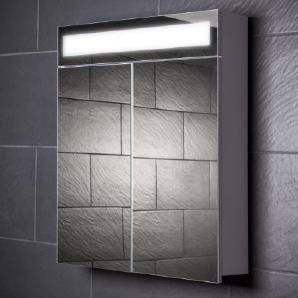 Galdem EVEN70 Spiegelschrank, holz, 70 x 65 x 15 cm, weiß