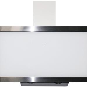 Respekta kopffreie Schräghaube CH 88090 WA+ EEK: A+ 90 cm Glas Weiß