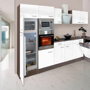 RESPEKTA Küchenzeile mit E-Geräten »York Winkelküche, Breite 340x172cm«