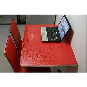 Wandbehang Klapptisch Wandmontage Beistelltisch Küche Esstisch Computer Schreibtisch Rot ( größe : 80*40cm )