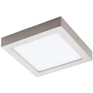 Eglo LED-Aufbauspot Fueva 1 Nickel matt 22 cm x 22 cm