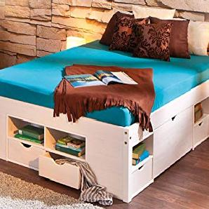 betten von amazon online vergleichen m bel 24. Black Bedroom Furniture Sets. Home Design Ideas