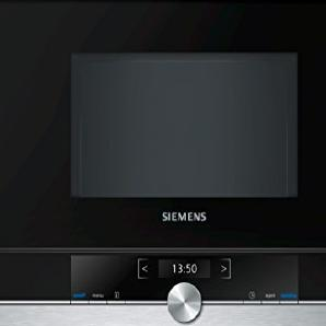 Siemens BF634RGS1 iQ539 Mikrowelle / 900 W / 21 L Garraum / Edelstahl / LED-Innenbeleuchtung