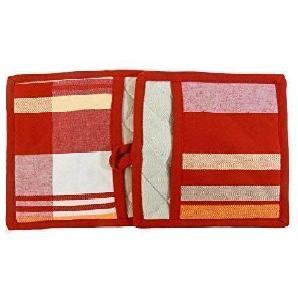 2 Stück gestreift Karo Rot Weiß Beige 100% Baumwolle Topflappen Handschuh Set 21 x 21cm