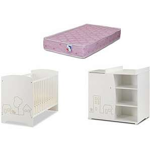 komplett babyzimmer liebevoll einrichten mit moebel24. Black Bedroom Furniture Sets. Home Design Ideas