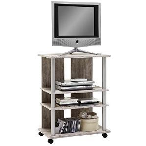 FMD Möbel Variant 7 TV/Hifi-Regal, Holz, sandeiche, 65 x 40 x 85 cm