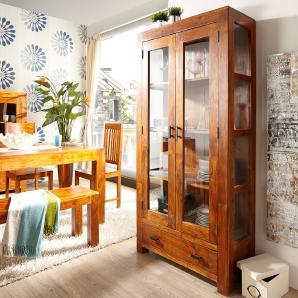 vitrinen aus holz online vergleichen m bel 24. Black Bedroom Furniture Sets. Home Design Ideas