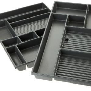 Kettler Schubladeneinsatz – Schubladeneinteilung Büro & Arbeitszimmer – perfekter Einsatz für die Schublade Kinderschreibtisch College Box und andere Schreibtische mit Großraumschublade