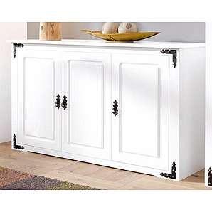 Home affaire Sideboard »New Cheap«, Breite 131 cm mit Metallbeschlägen