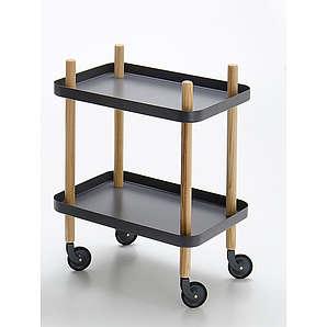 Beistellwagen Block Table Normann Copenhagen Grau, Designer Simon Legald, 64x50x35 cm